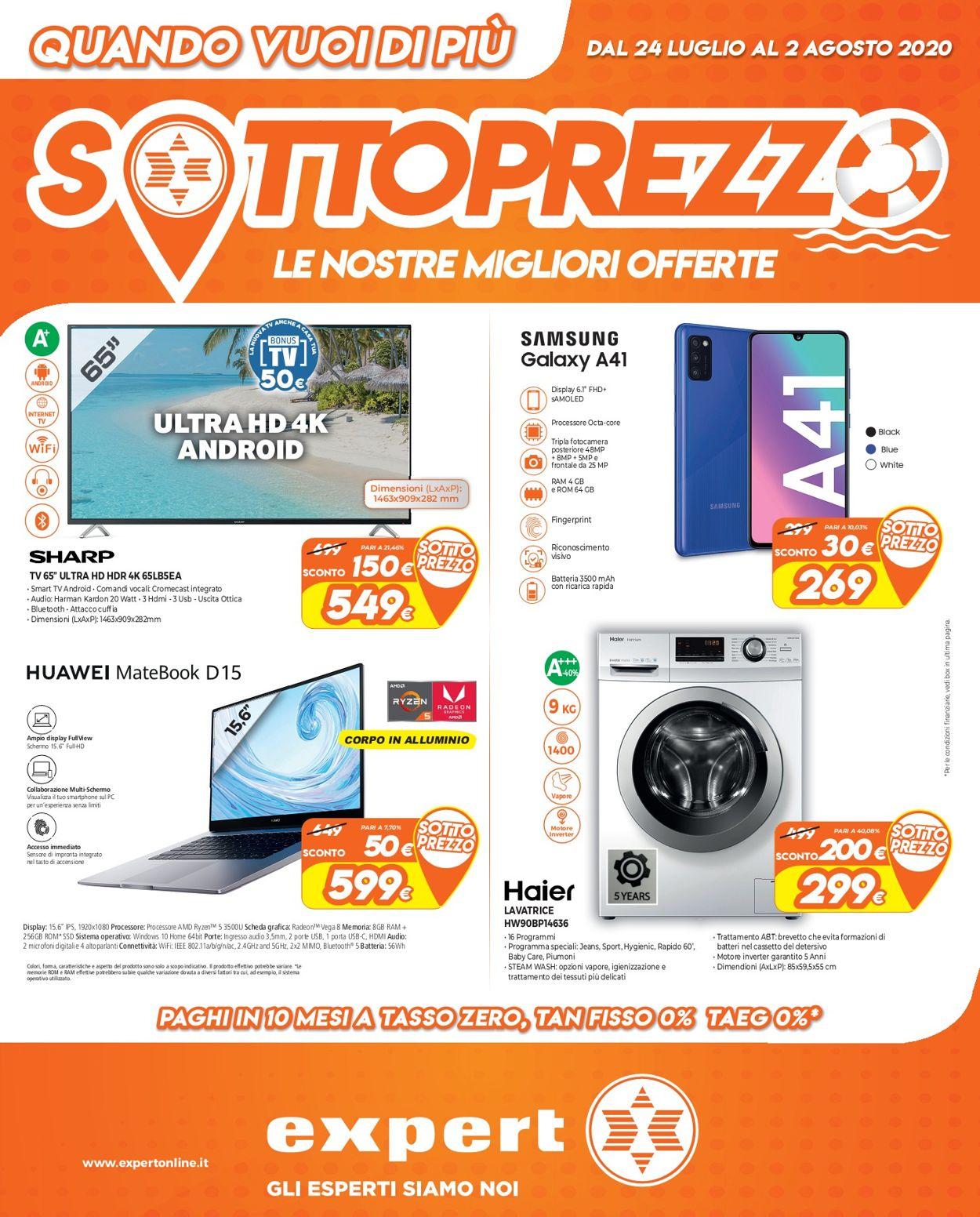 Volantino Iperal - Offerte 24/07-02/08/2020