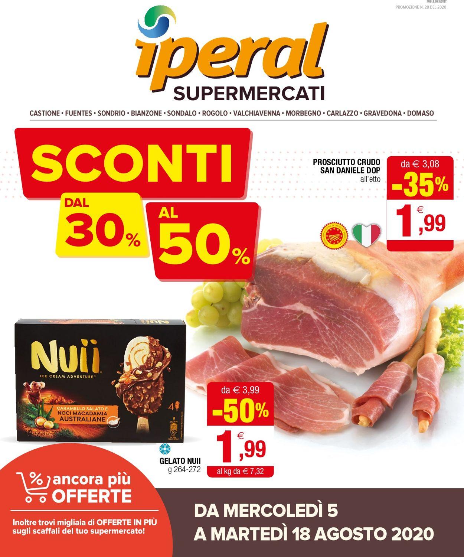 Volantino Iperal - Offerte 05/08-18/08/2020
