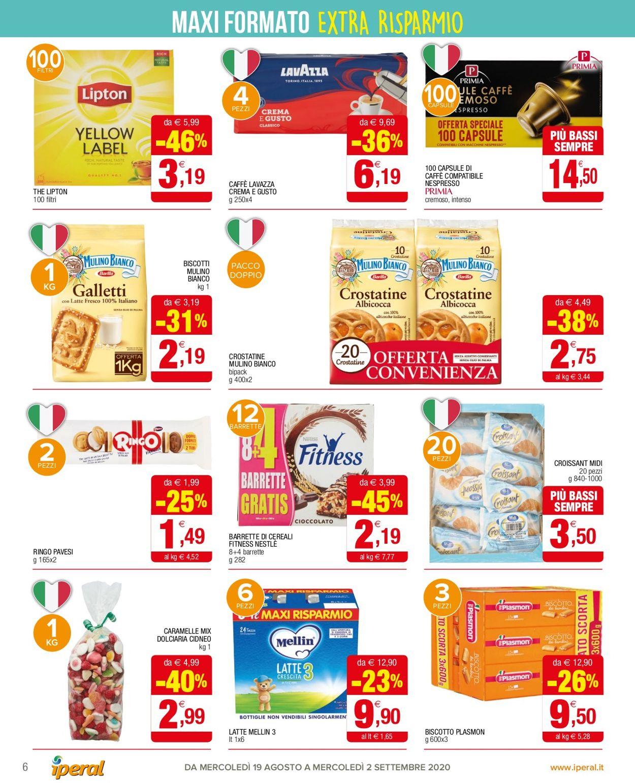 Volantino Iperal - Offerte 19/08-02/09/2020 (Pagina 6)