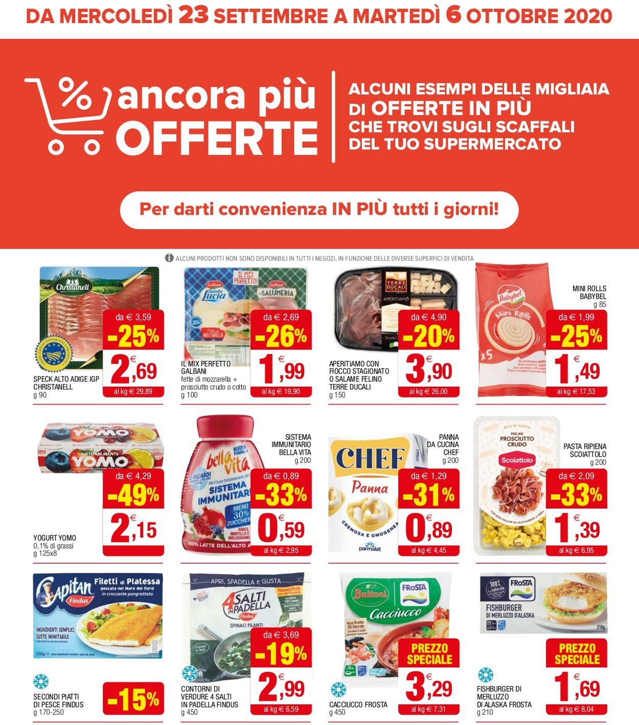 Volantino Iperal - Offerte 23/09-06/10/2020