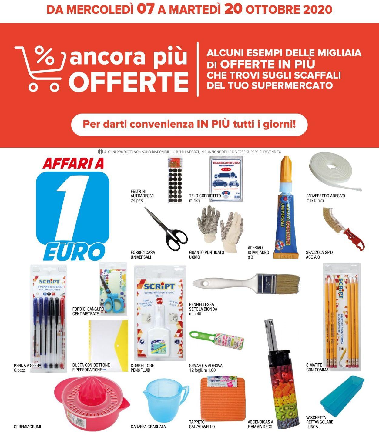 Volantino Iperal - Offerte 07/10-20/10/2020