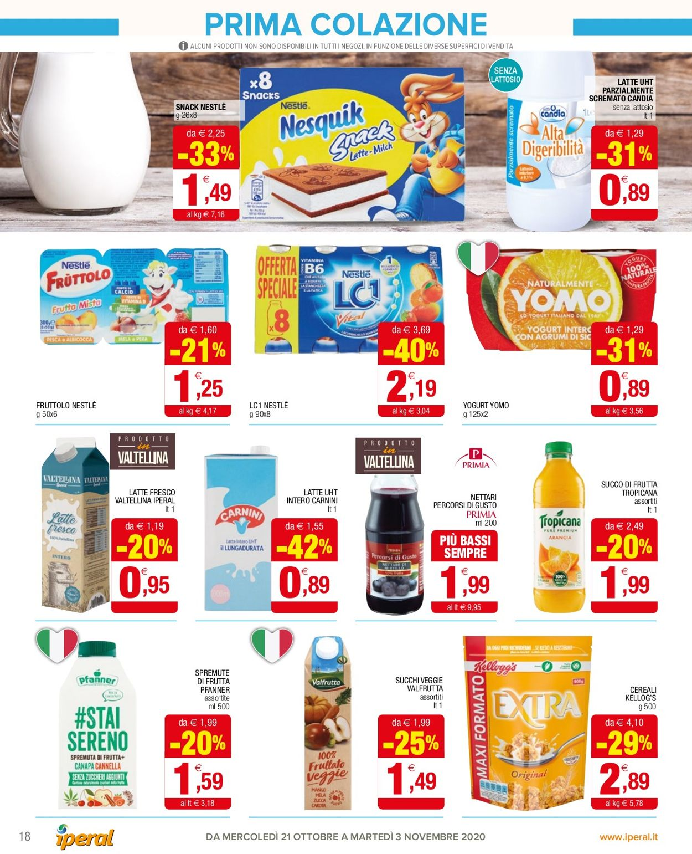 Volantino Iperal - Offerte 21/10-03/11/2020 (Pagina 18)