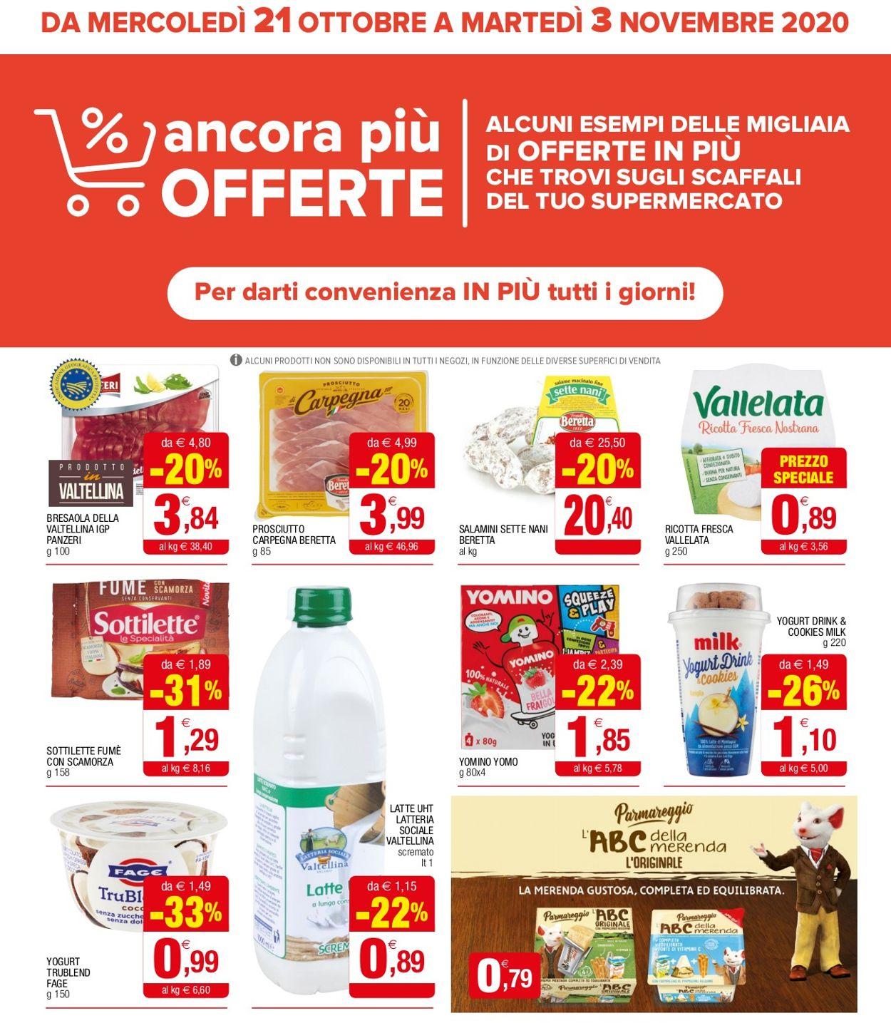 Volantino Iperal - Offerte 21/10-03/11/2020