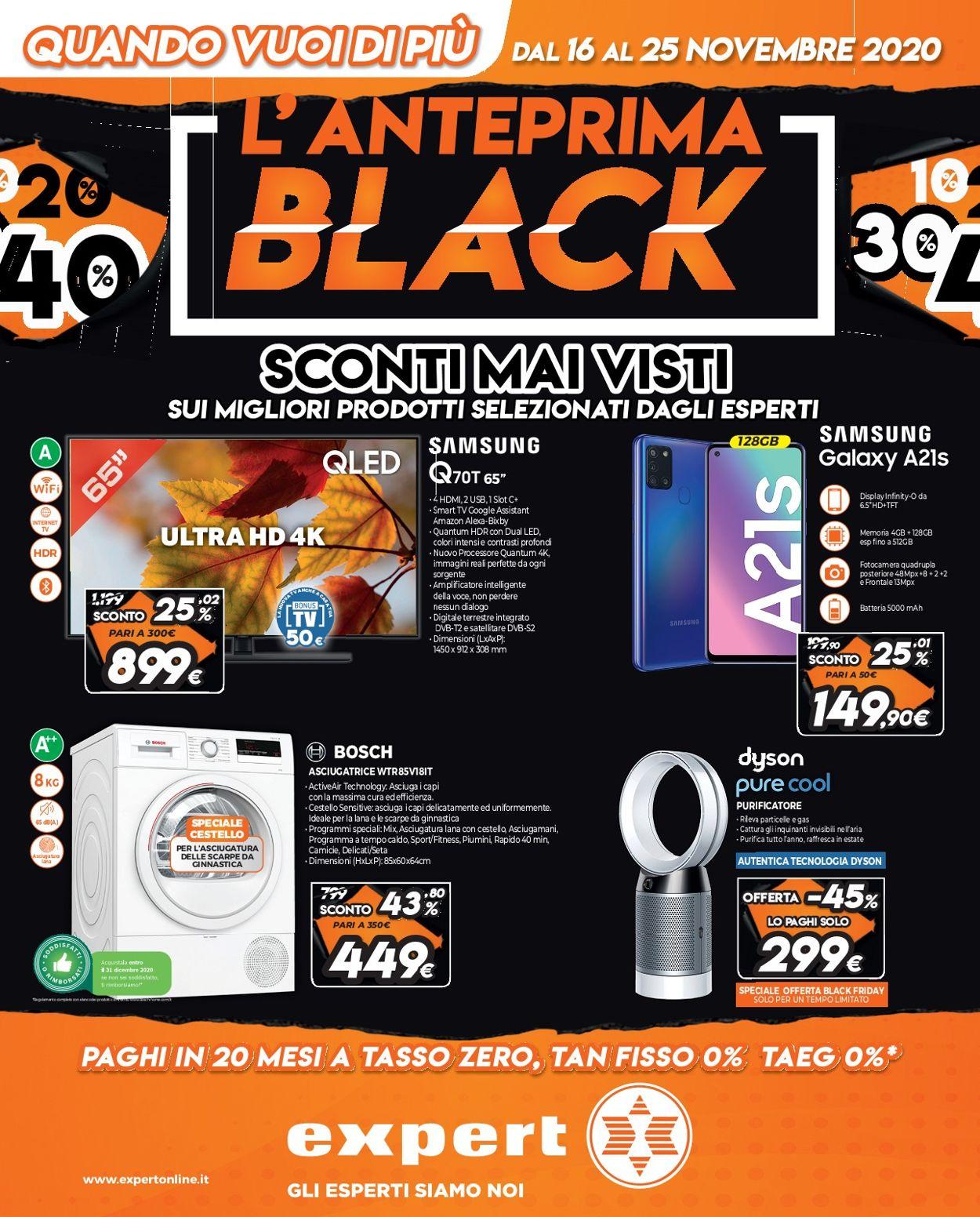 Volantino Iperal Black Friday 2020 - Offerte 16/11-25/11/2020