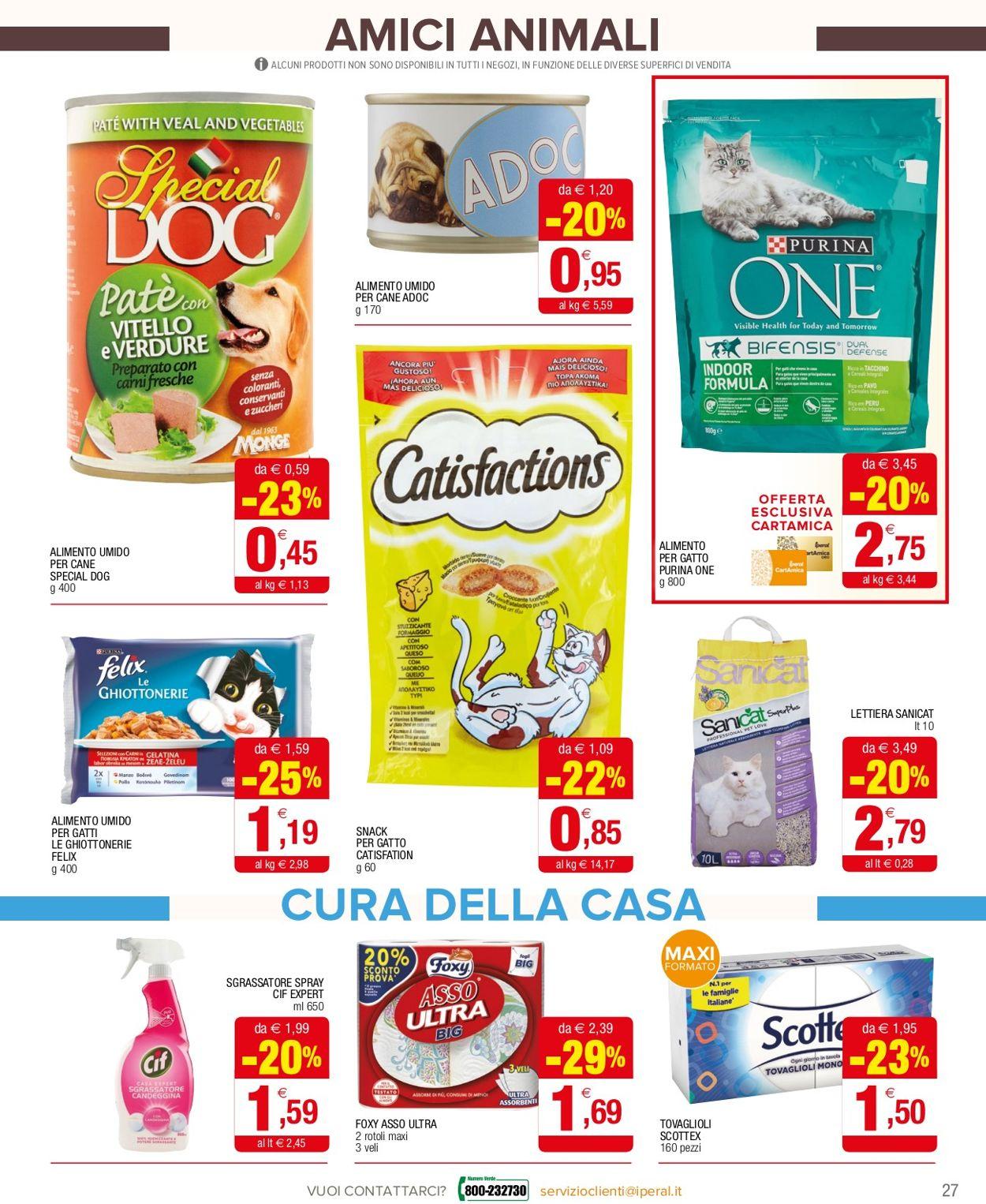 Volantino Iperal - Offerte 18/11-02/12/2020 (Pagina 27)