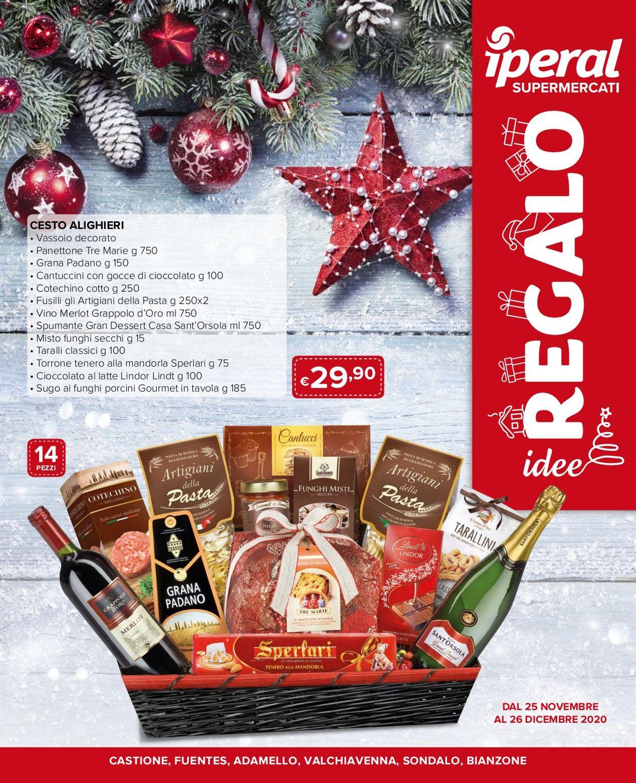 Volantino Iperal - Natale 2020 - Offerte 25/11-26/12/2020