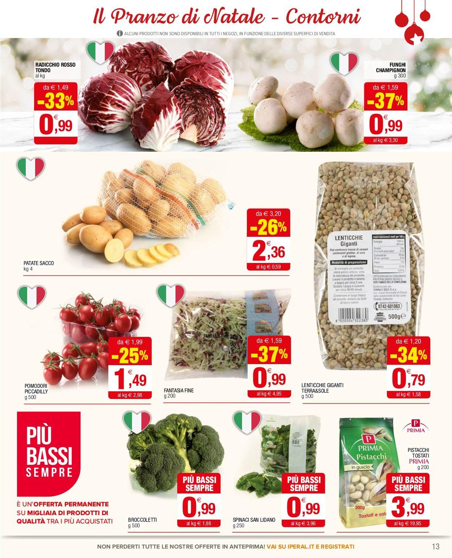 Volantino Iperal - Natale 2020 - Offerte 16/12-29/12/2020 (Pagina 13)