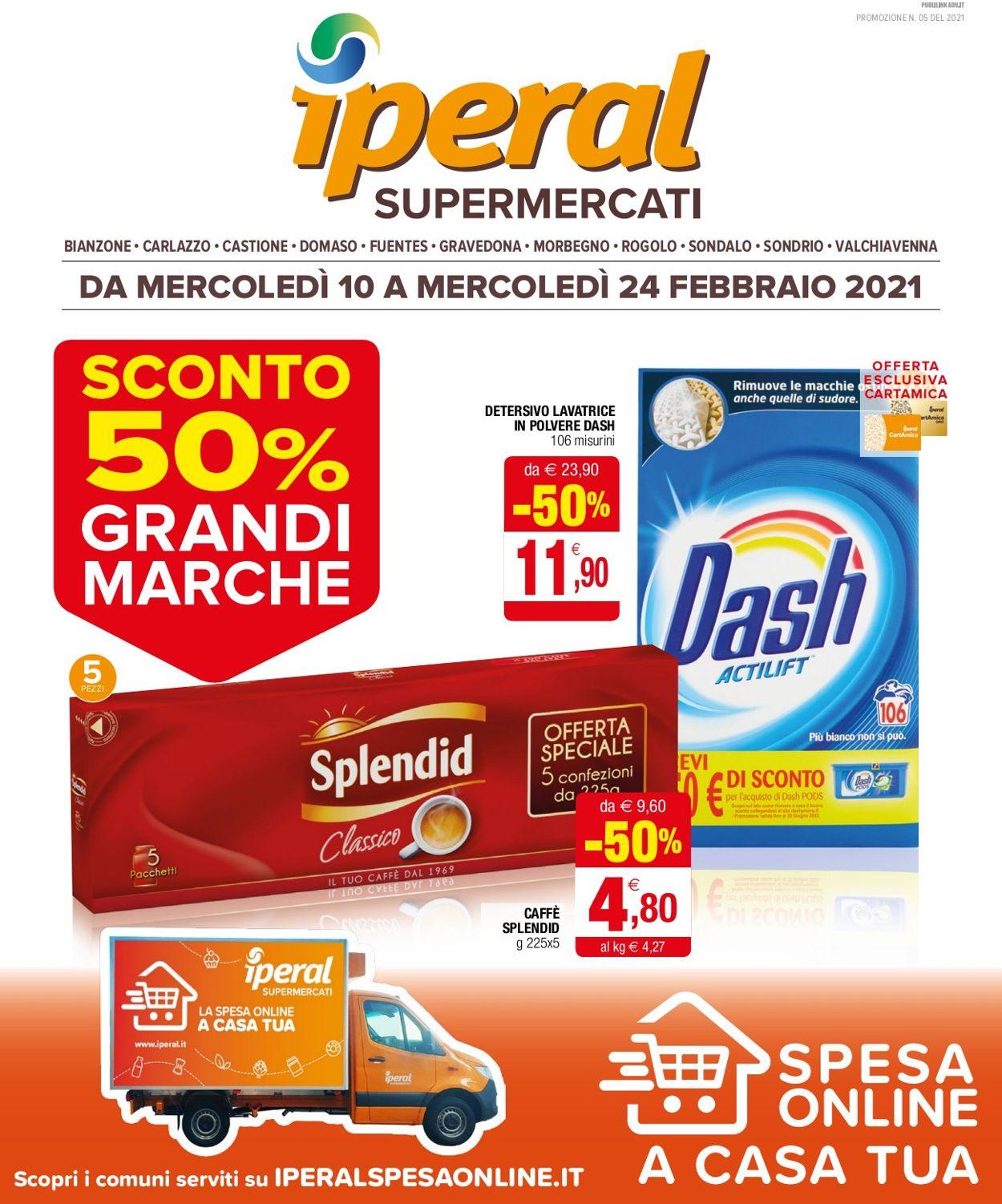 Volantino Iperal Supermercati - Offerte 10/02-24/02/2021