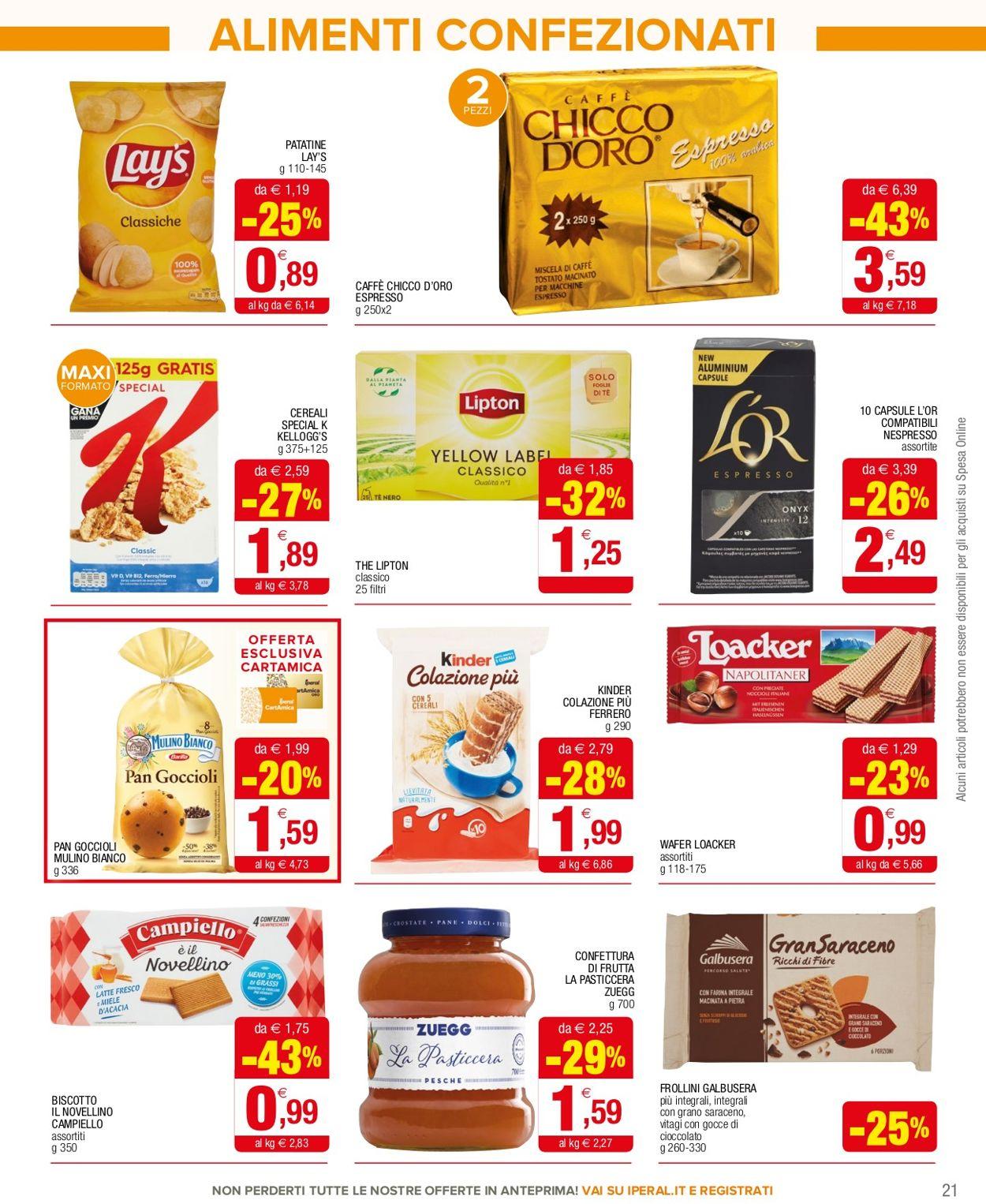 Volantino Iperal Supermercati - Offerte 10/02-24/02/2021 (Pagina 21)