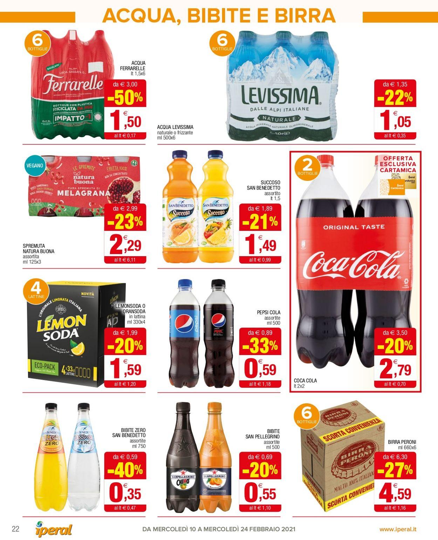 Volantino Iperal Supermercati - Offerte 10/02-24/02/2021 (Pagina 22)