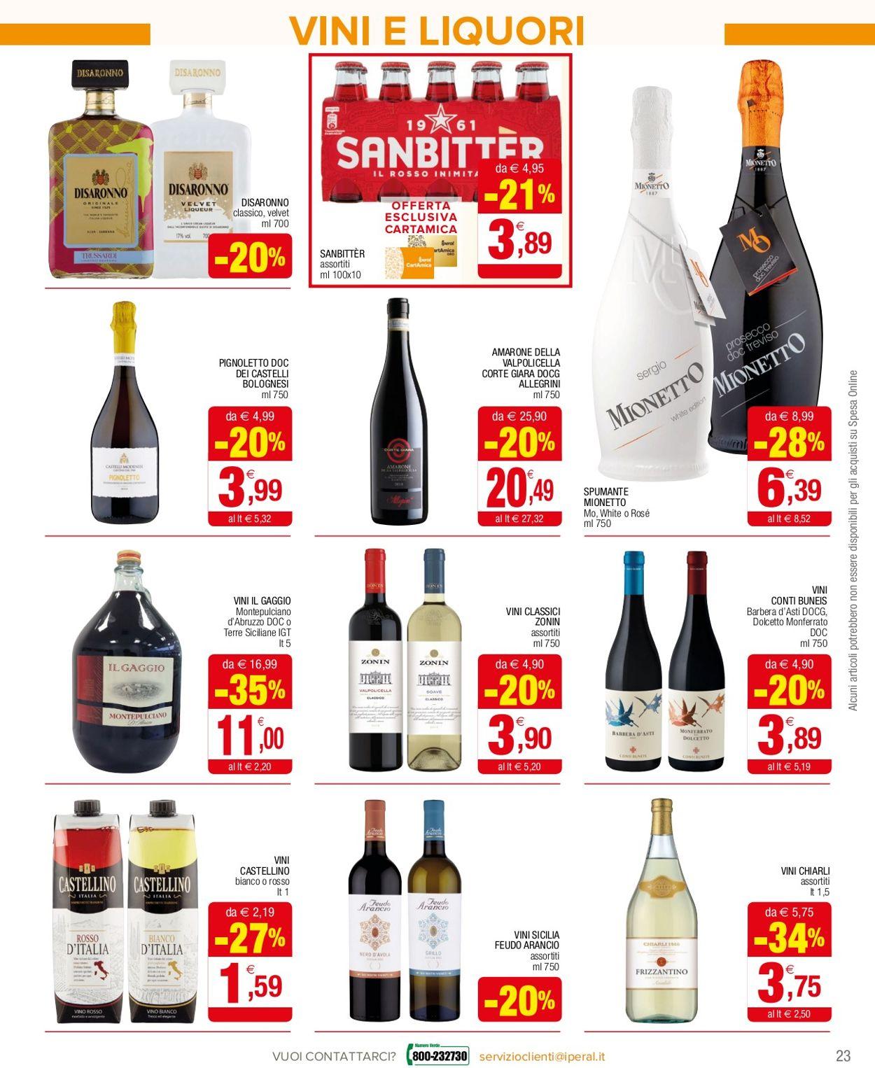 Volantino Iperal Supermercati - Offerte 10/02-24/02/2021 (Pagina 23)