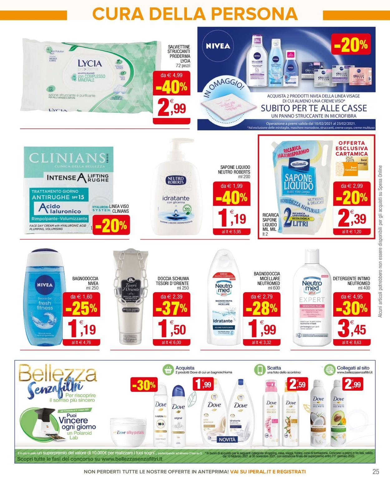Volantino Iperal Supermercati - Offerte 10/02-24/02/2021 (Pagina 25)