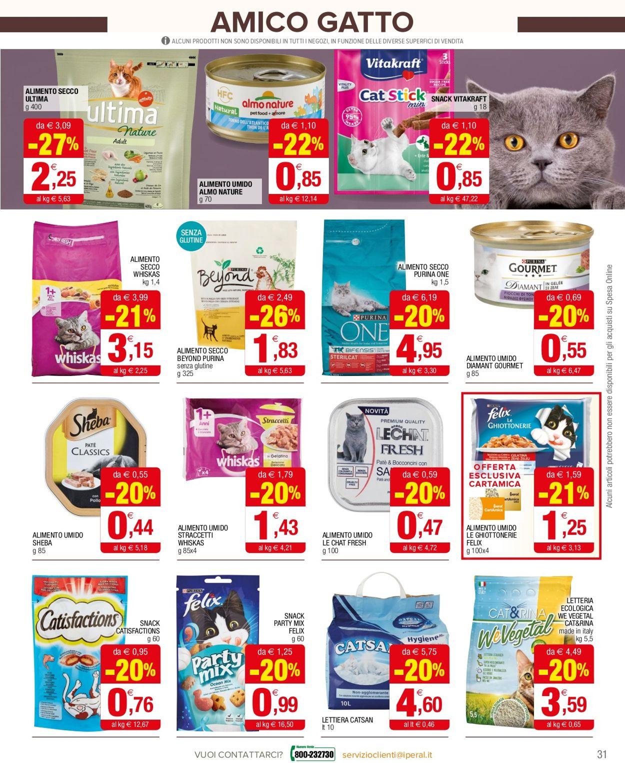 Volantino Iperal Supermercati - Offerte 10/02-24/02/2021 (Pagina 31)