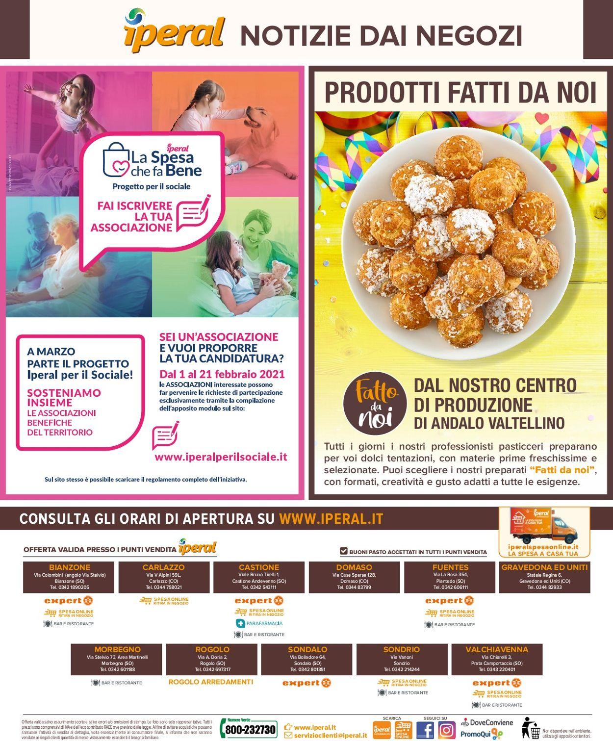 Volantino Iperal Supermercati - Offerte 10/02-24/02/2021 (Pagina 32)