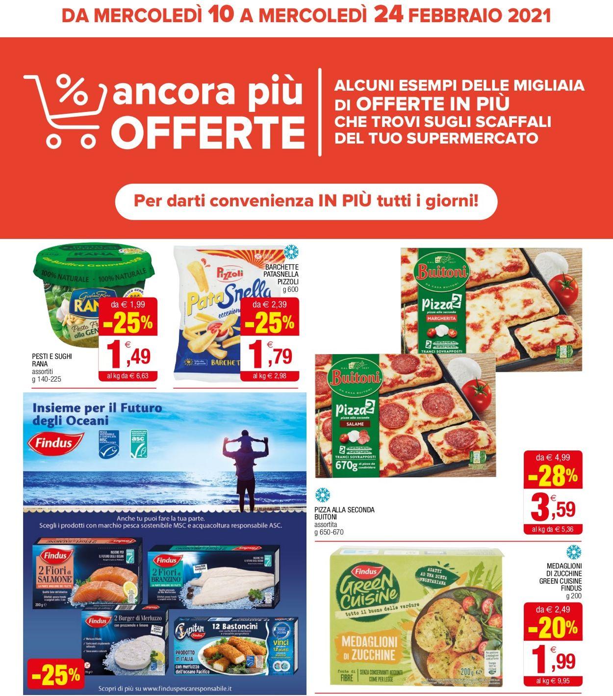 Volantino Iperal - Offerte 10/02-24/02/2021