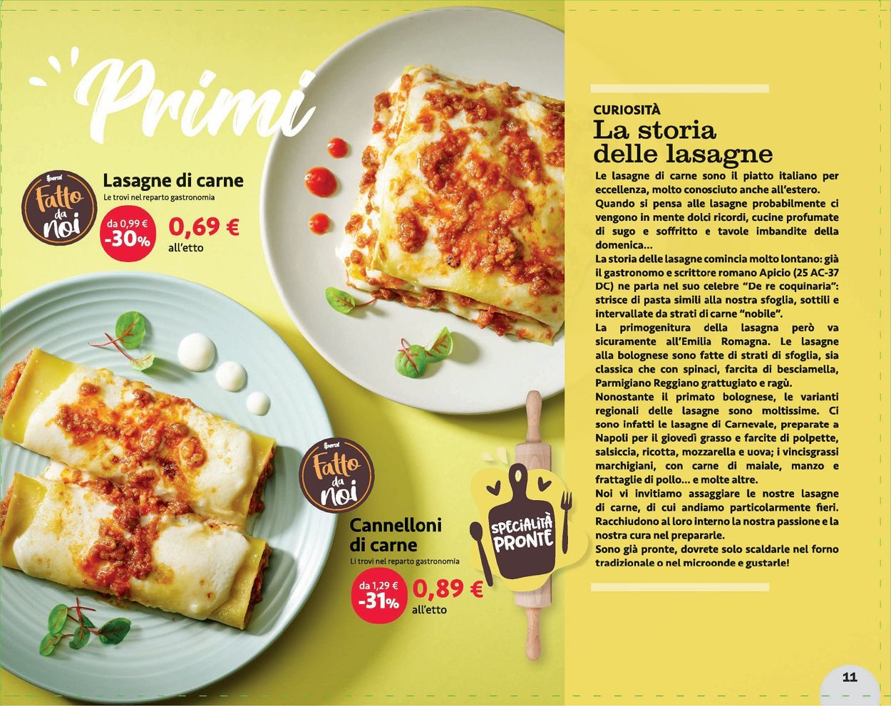 Volantino Iperal - Offerte 15/03-06/04/2021 (Pagina 11)
