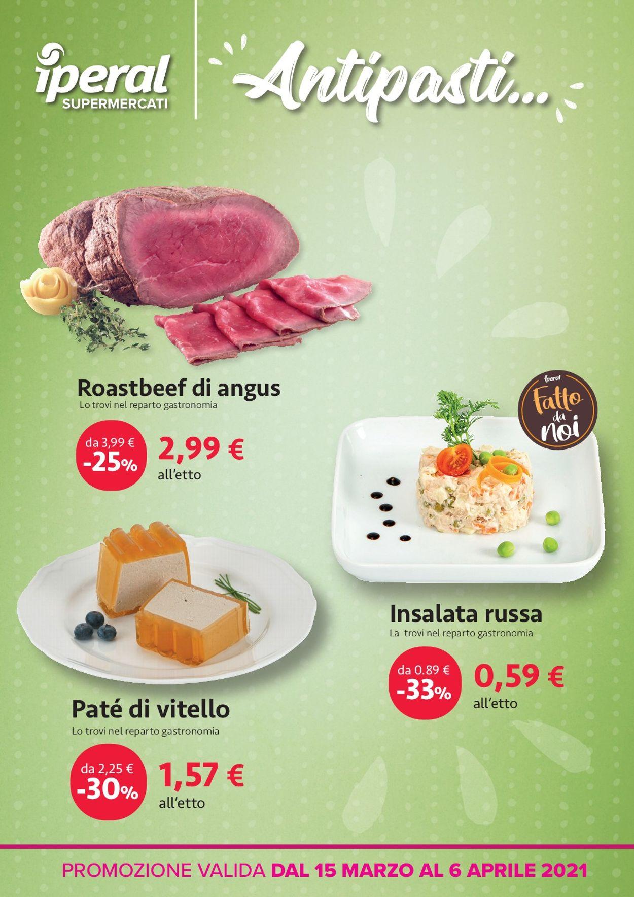 Volantino Iperal - Pasqua 2021! - Offerte 15/03-06/04/2021 (Pagina 4)