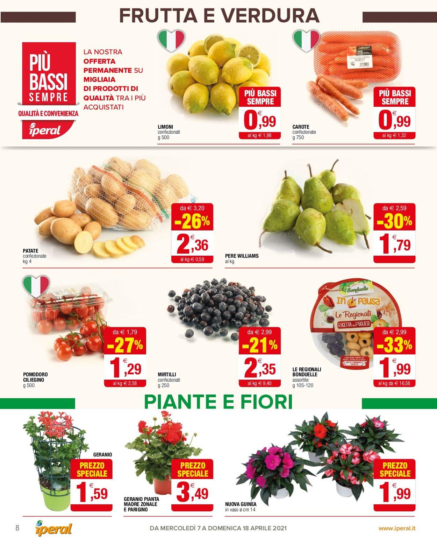 Volantino Iperal - Offerte 07/04-18/04/2021 (Pagina 8)