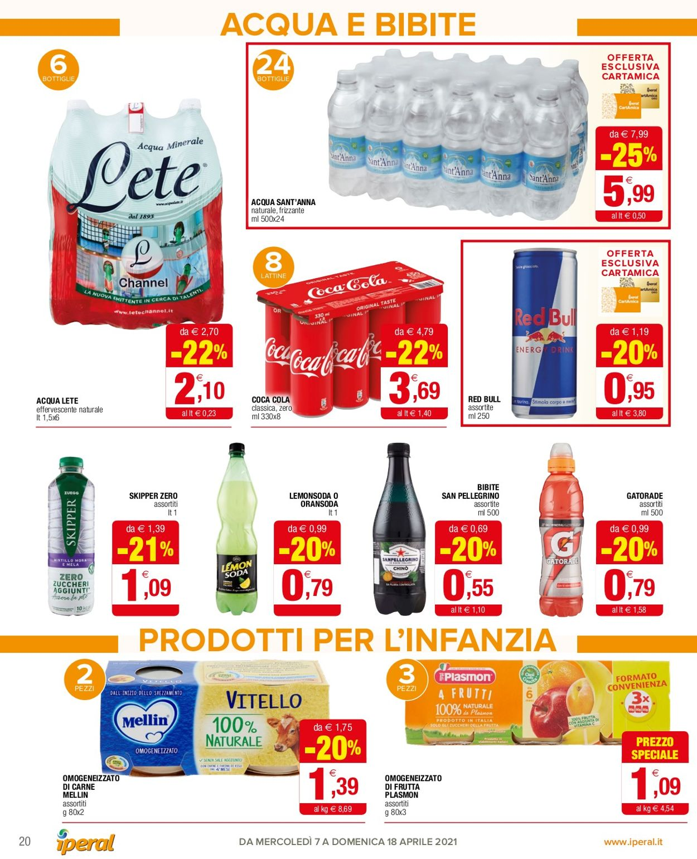 Volantino Iperal - Offerte 07/04-18/04/2021 (Pagina 20)