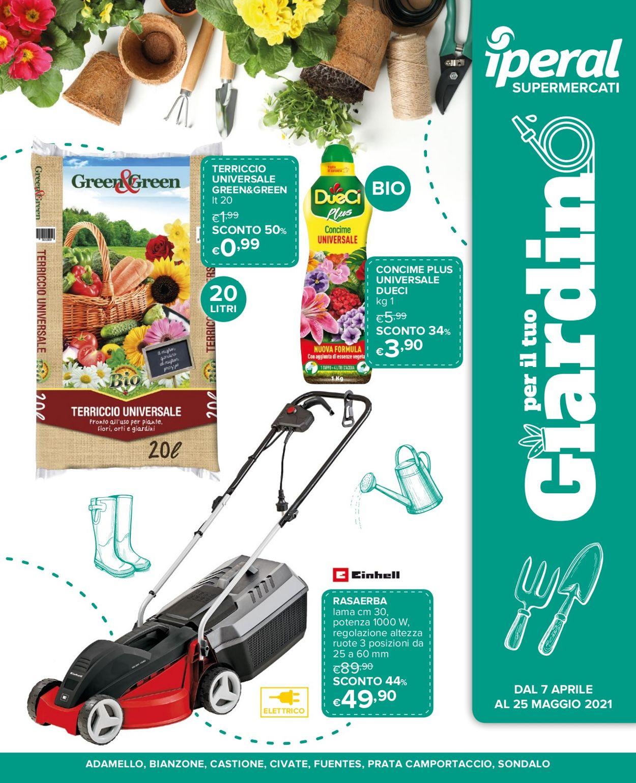 Volantino Iperal - Offerte 07/04-25/05/2021