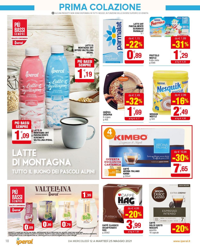 Volantino Iperal - Offerte 12/05-25/05/2021 (Pagina 18)