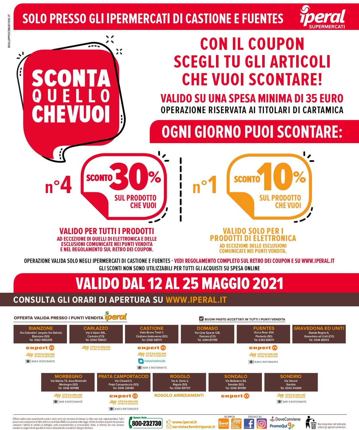 Volantino Iperal - Offerte 12/05-25/05/2021 (Pagina 32)