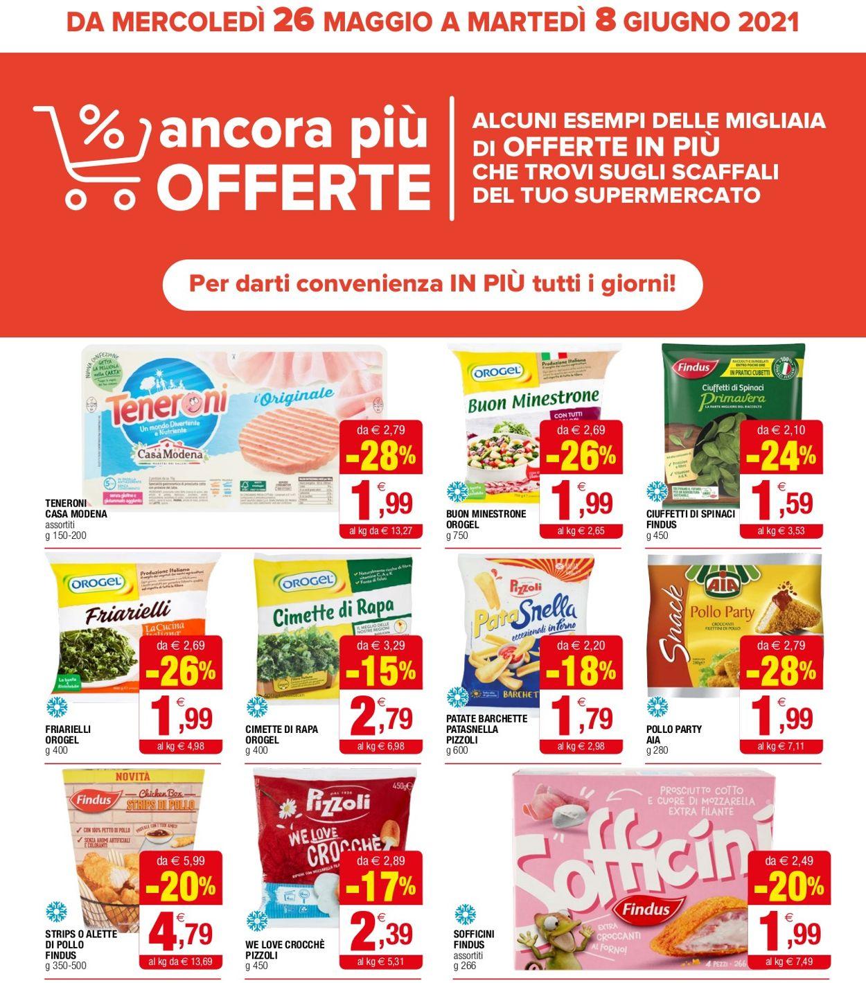 Volantino Iperal - Offerte 26/05-08/06/2021