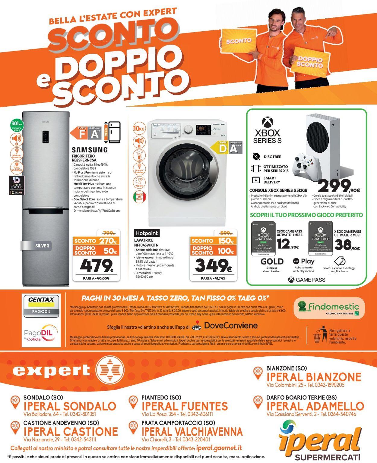Volantino Iperal - Offerte 07/06-20/06/2021 (Pagina 20)