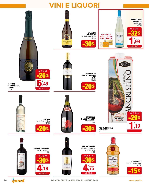 Volantino Iperal - Offerte 09/06-22/06/2021 (Pagina 24)