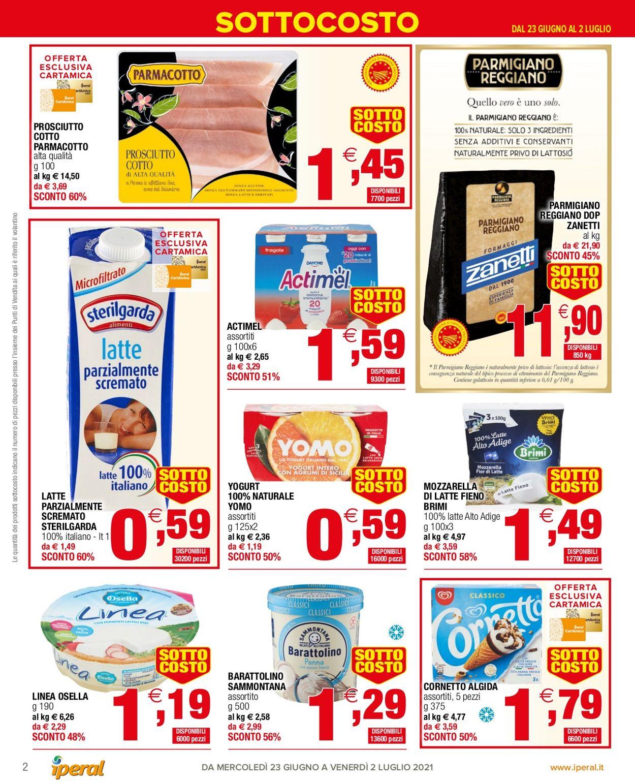 Volantino Iperal - Offerte 23/06-02/07/2021 (Pagina 2)