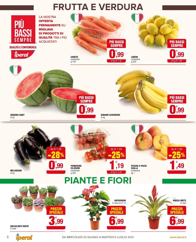 Volantino Iperal - Offerte 23/06-02/07/2021 (Pagina 6)