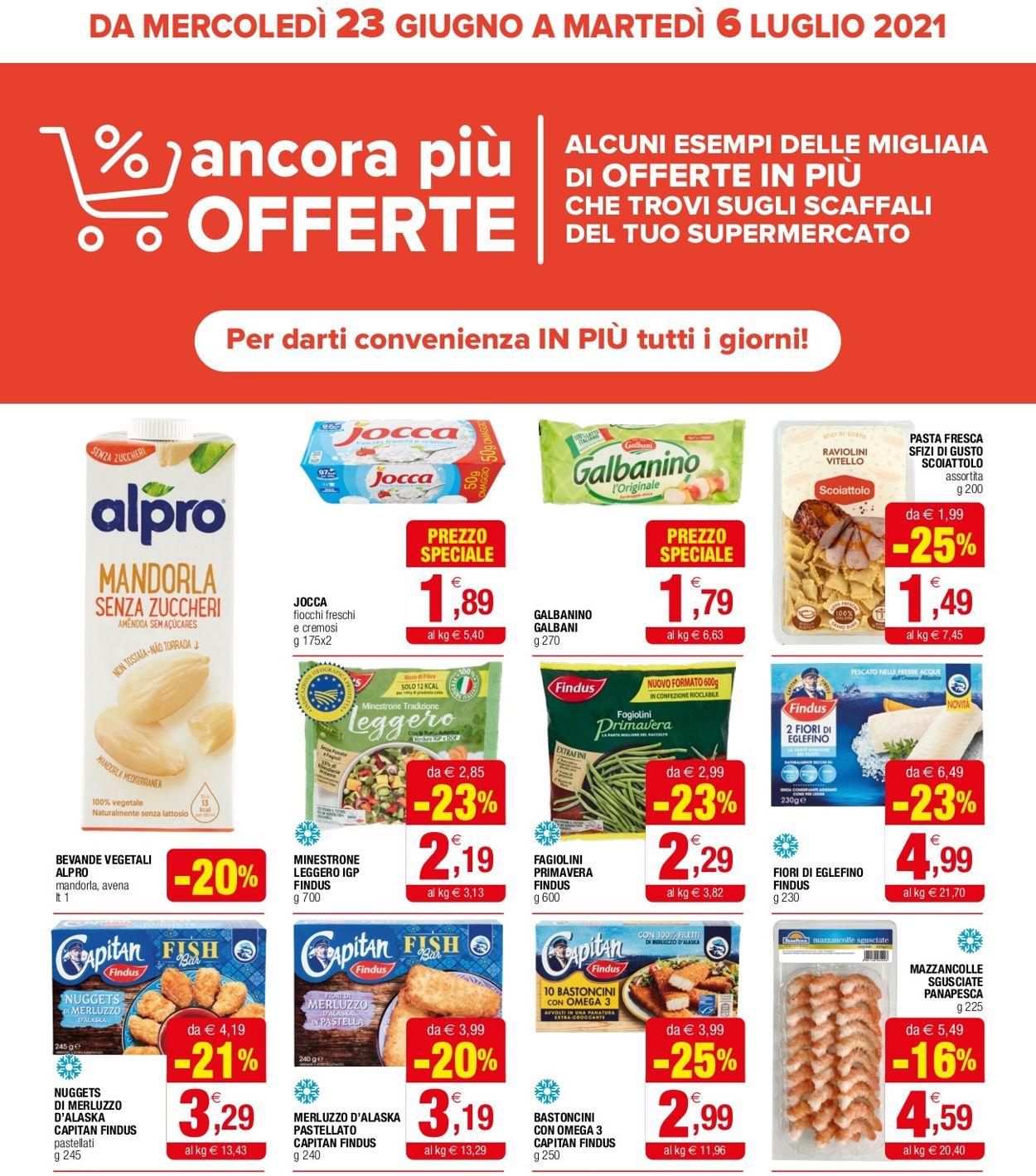 Volantino Iperal - Offerte 23/06-06/07/2021