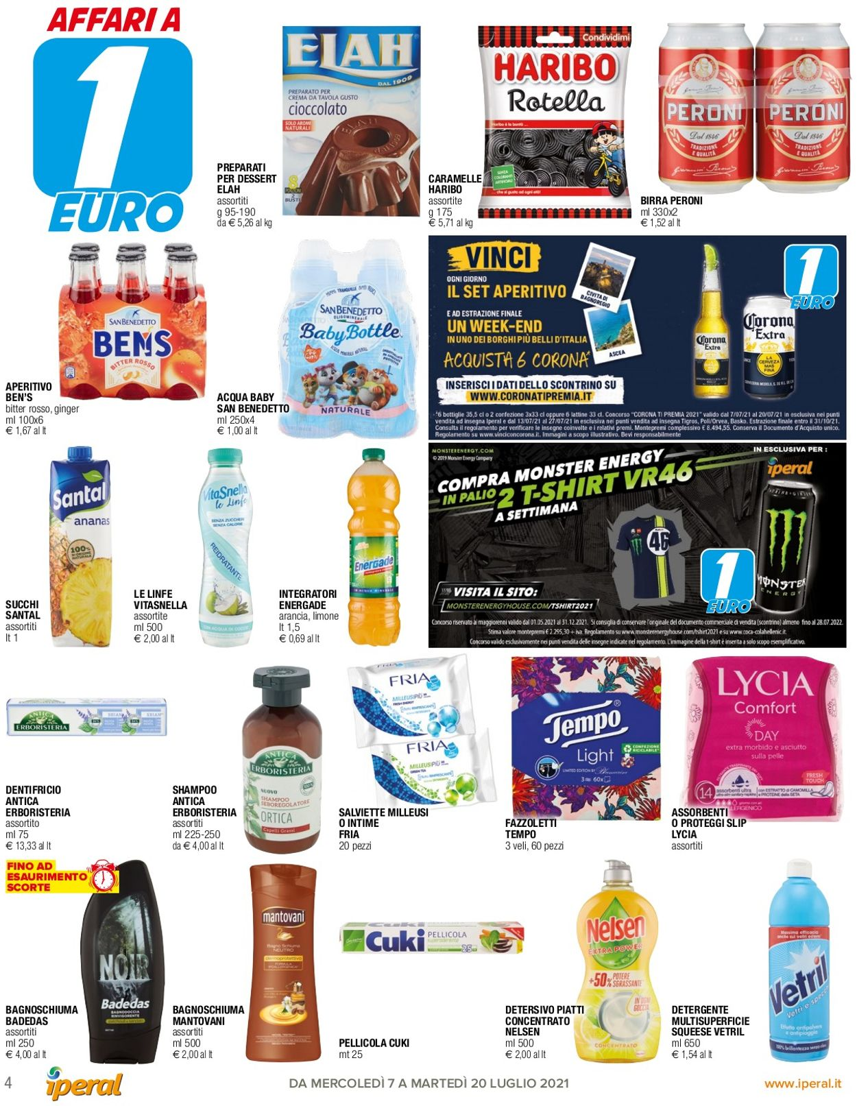 Volantino Iperal - Offerte 07/07-20/07/2021 (Pagina 4)