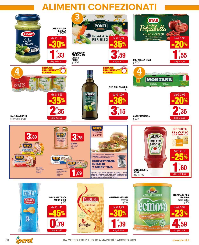 Volantino Iperal - Offerte 21/07-03/08/2021 (Pagina 20)