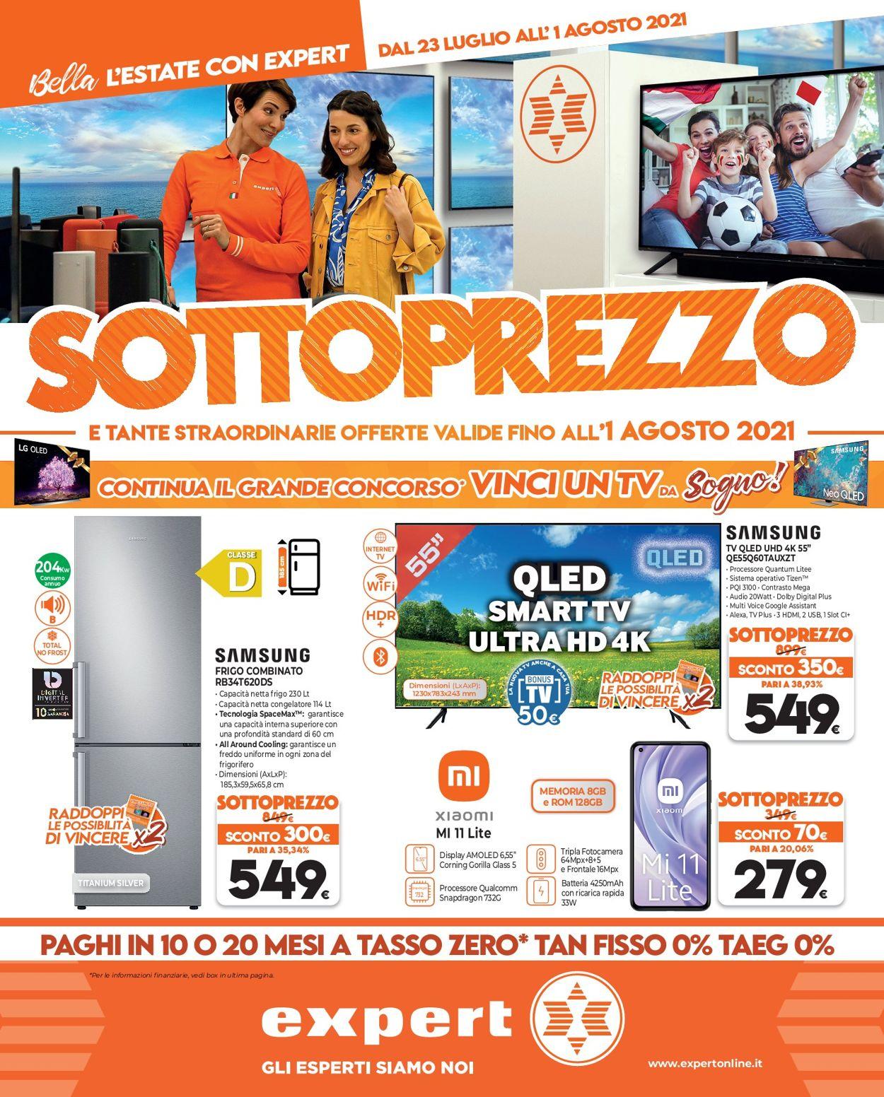 Volantino Iperal - Offerte 23/07-01/08/2021