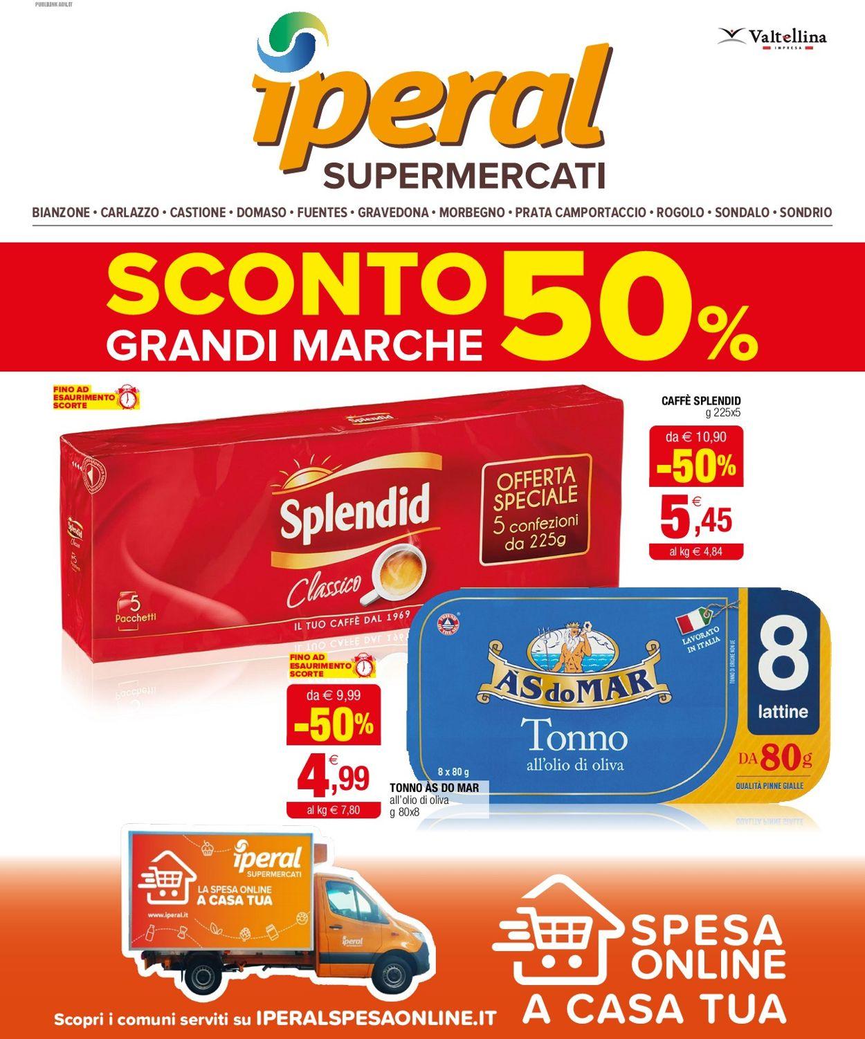 Volantino Iperal - Offerte 04/08-17/08/2021