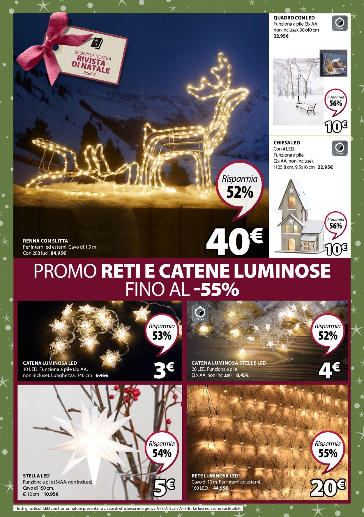 Volantino Il volantino natalizio di Jysk - Offerte 12/12-22/12/2019 (Pagina 2)