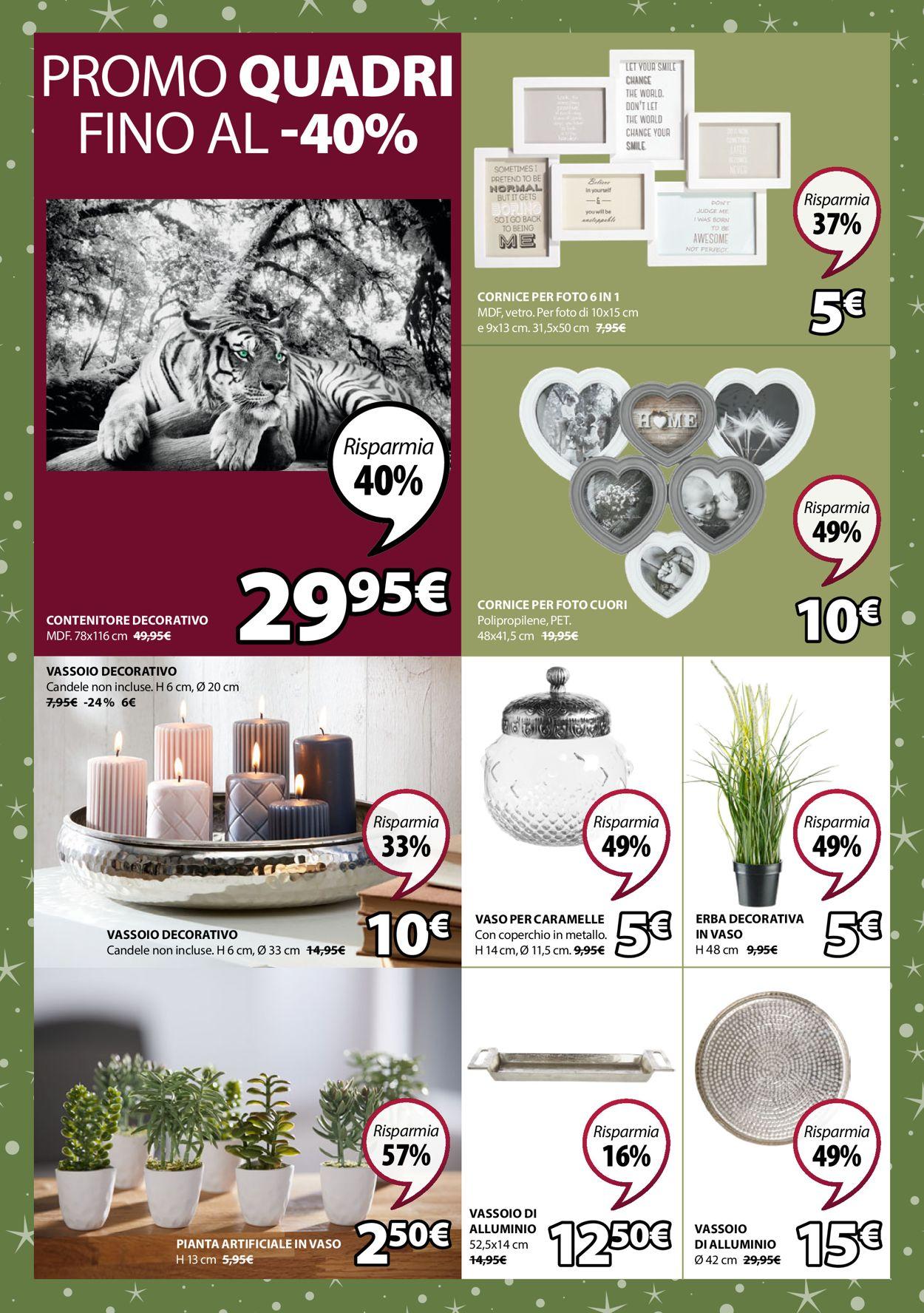 Volantino Il volantino natalizio di Jysk - Offerte 19/12-03/01/2020 (Pagina 4)
