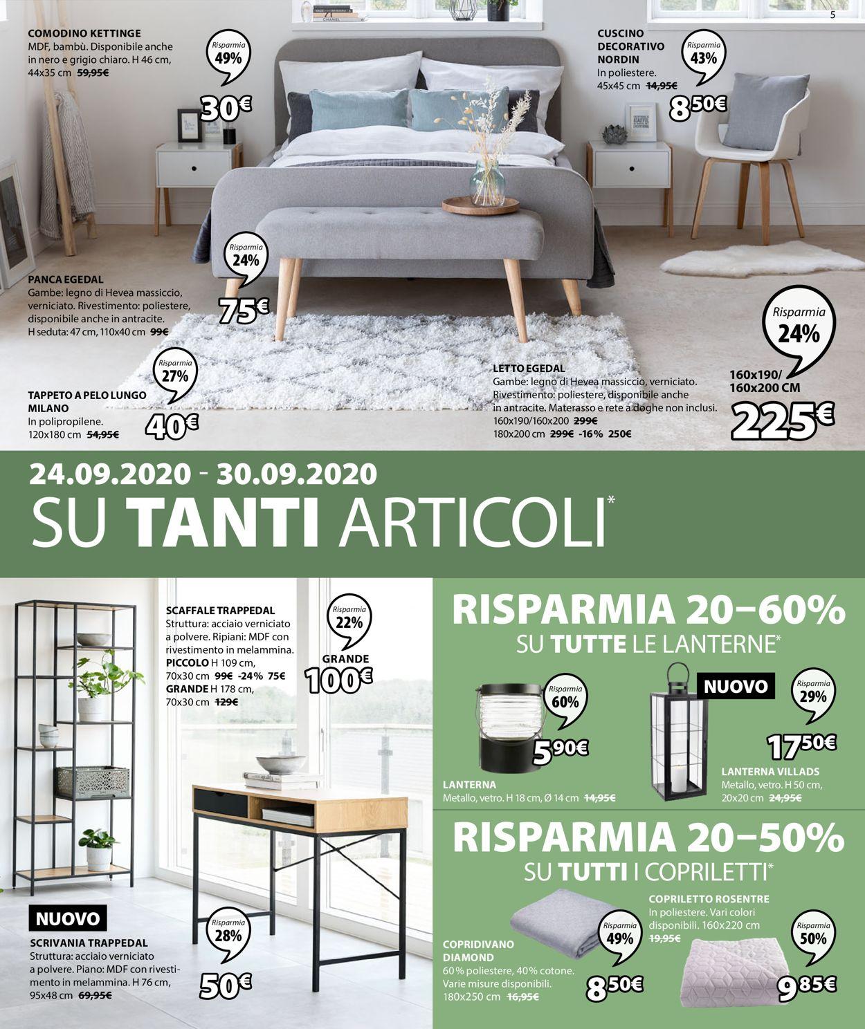 Volantino Jysk - Offerte 24/09-07/10/2020 (Pagina 6)