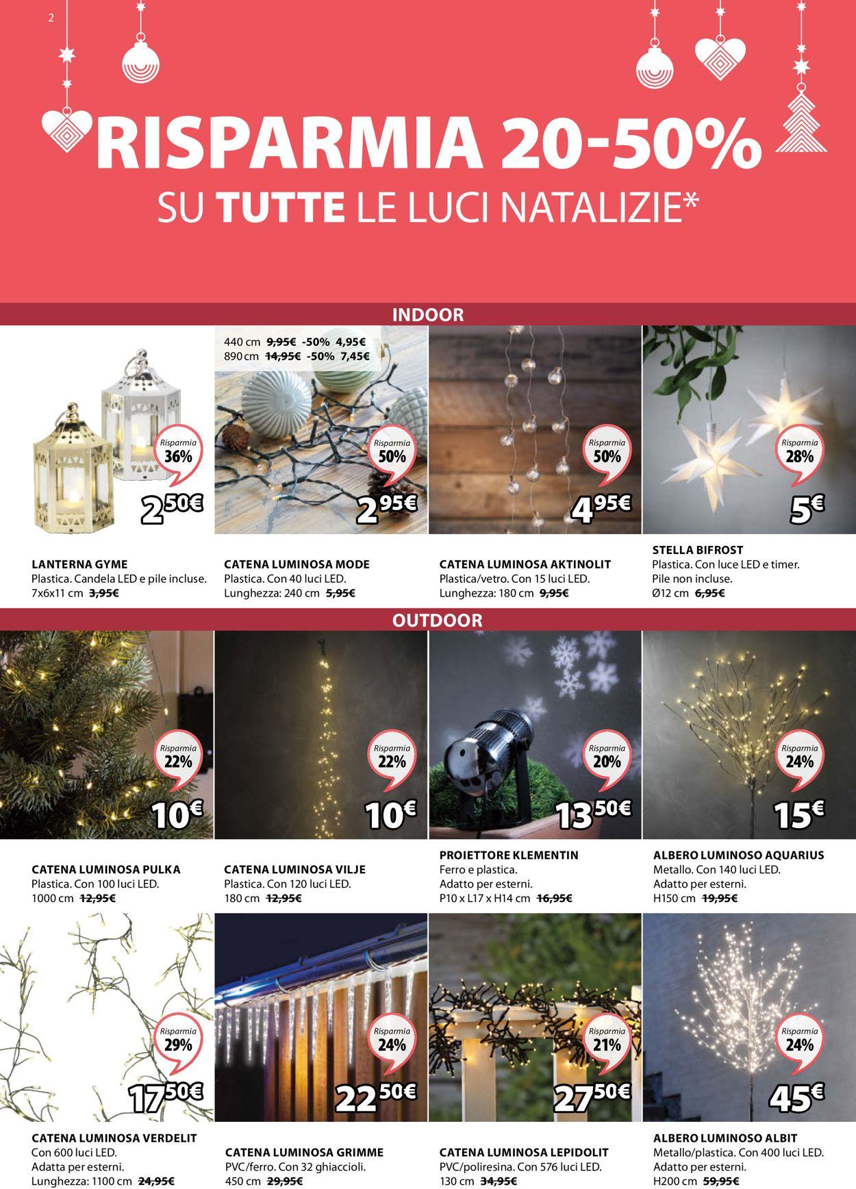 Volantino Jysk - Natale 2020 - Offerte 30/11-15/12/2020 (Pagina 2)