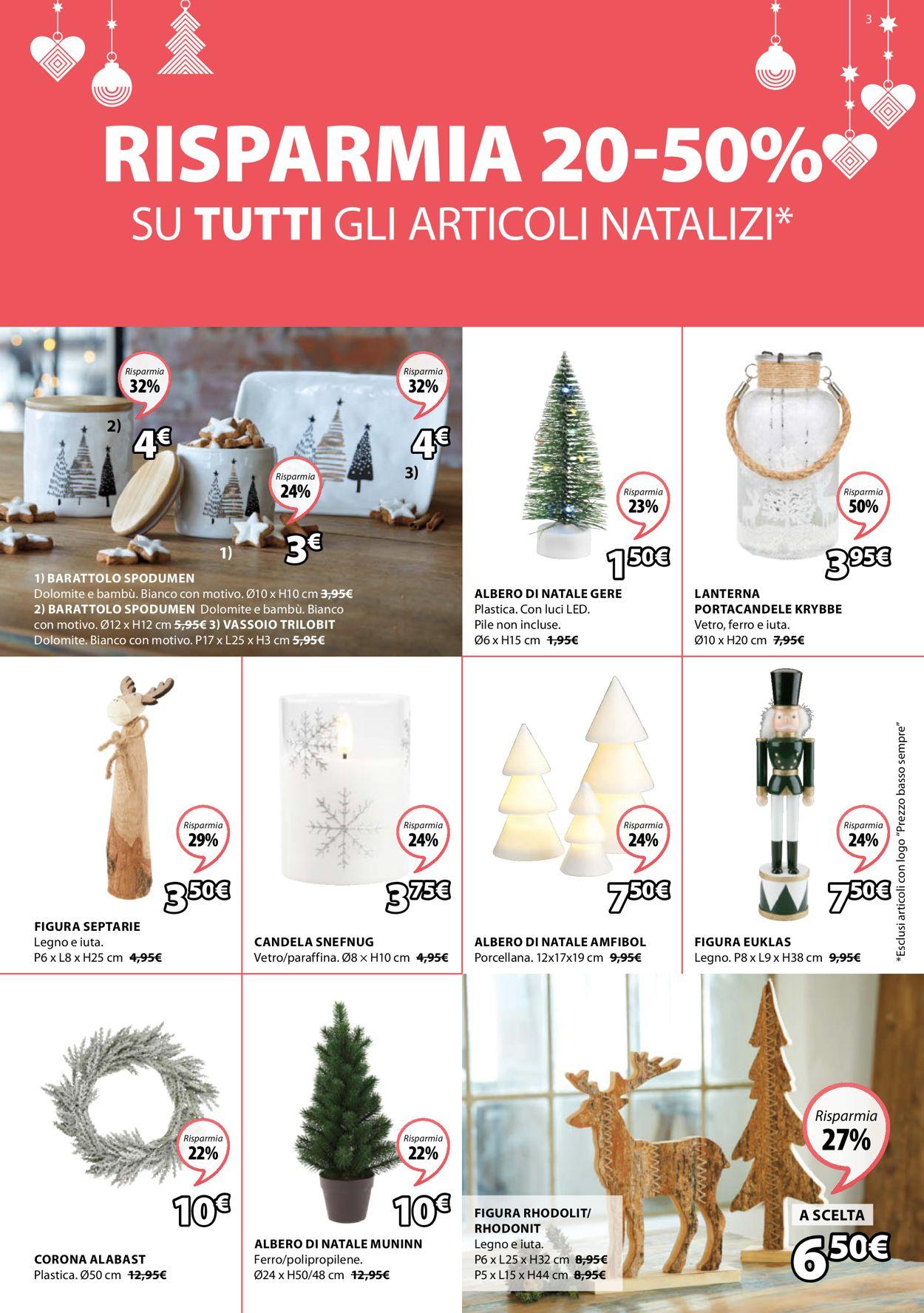 Volantino Jysk - Natale 2020 - Offerte 30/11-15/12/2020 (Pagina 3)