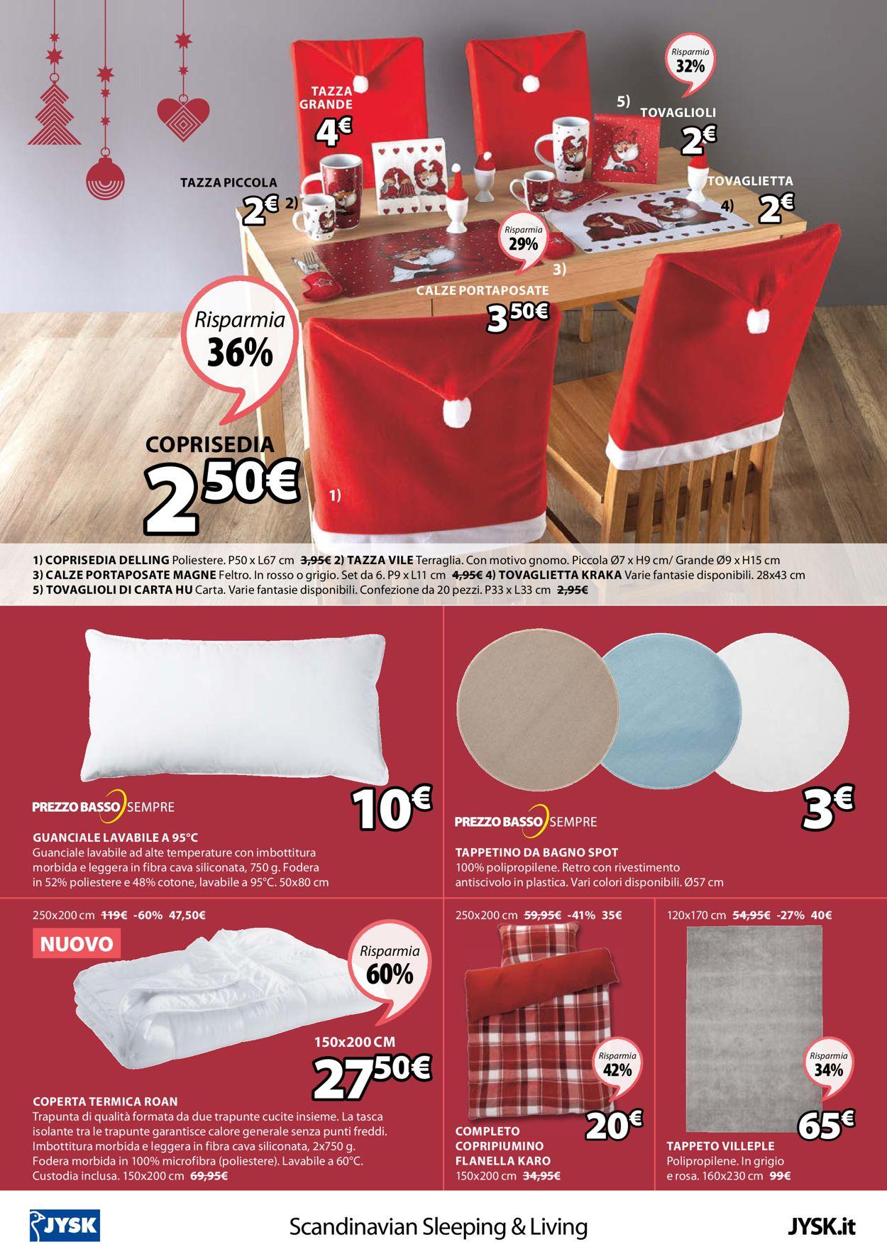 Volantino Jysk - Natale 2020 - Offerte 30/11-15/12/2020 (Pagina 24)