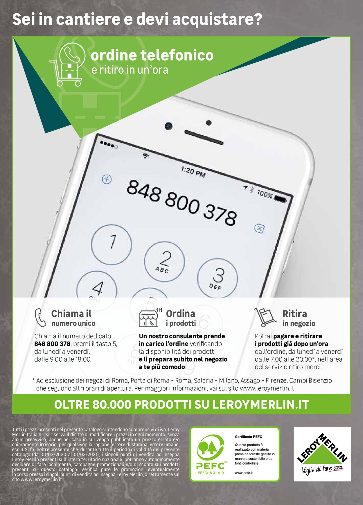Volantino Leroy Merlin - Offerte 20/08-30/04/2021 (Pagina 155)