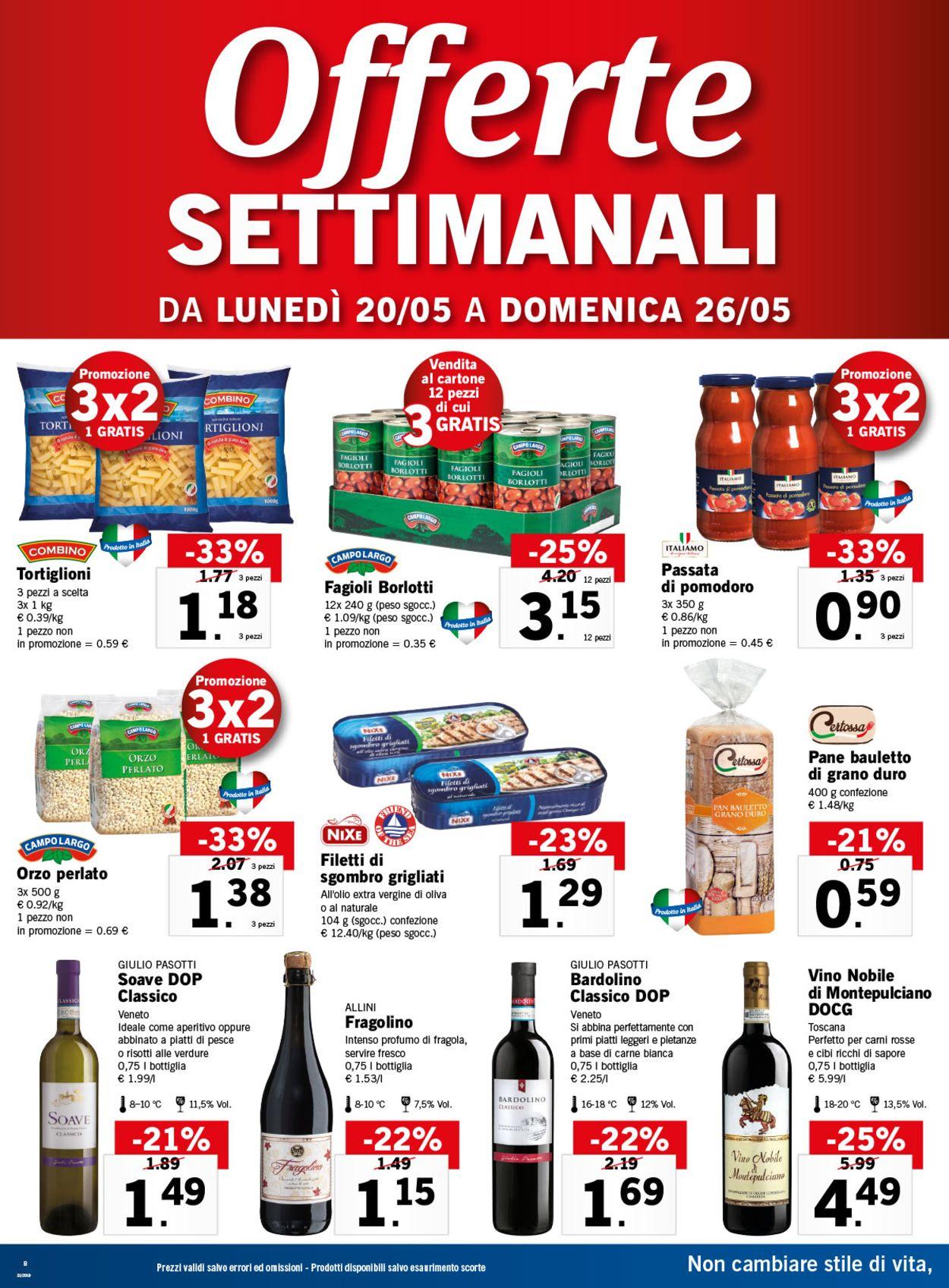 Volantino Lidl - Offerte 20/05-26/05/2019 (Pagina 8)