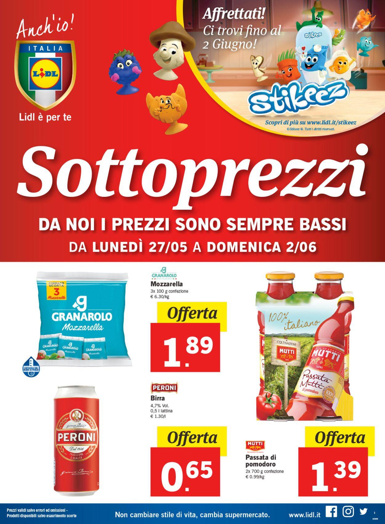 Volantino Lidl - Offerte 27/05-02/06/2019