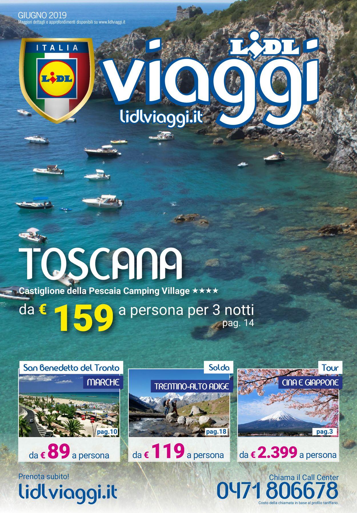 Volantino Lidl - Offerte 01/06-30/06/2019