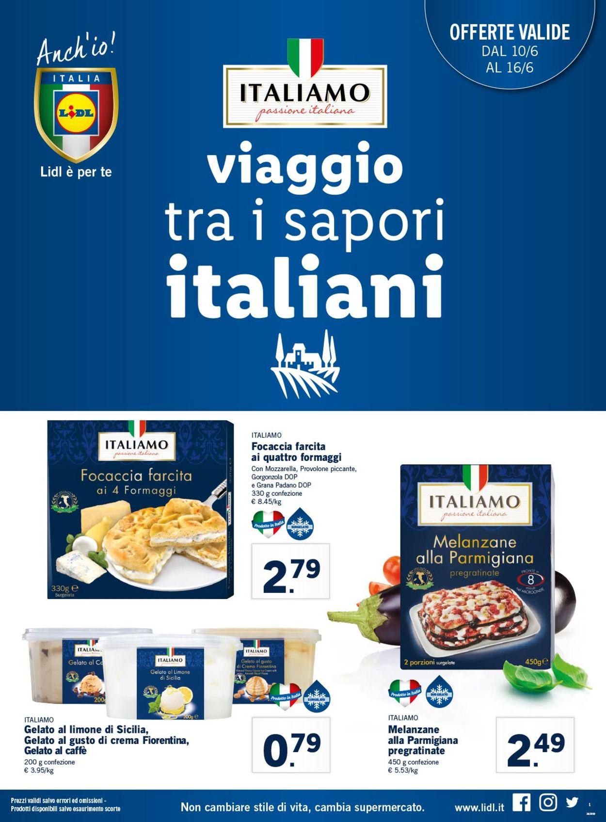 Volantino Lidl - Offerte 10/06-16/06/2019