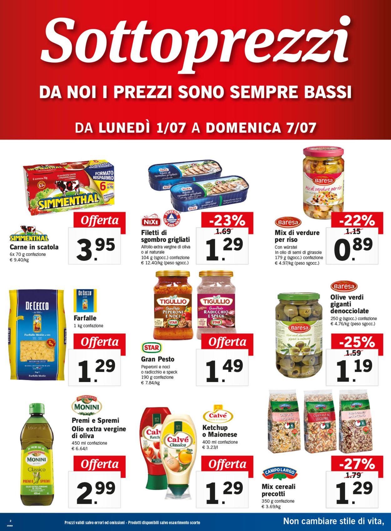 Volantino Lidl - Offerte 01/07-07/07/2019 (Pagina 2)