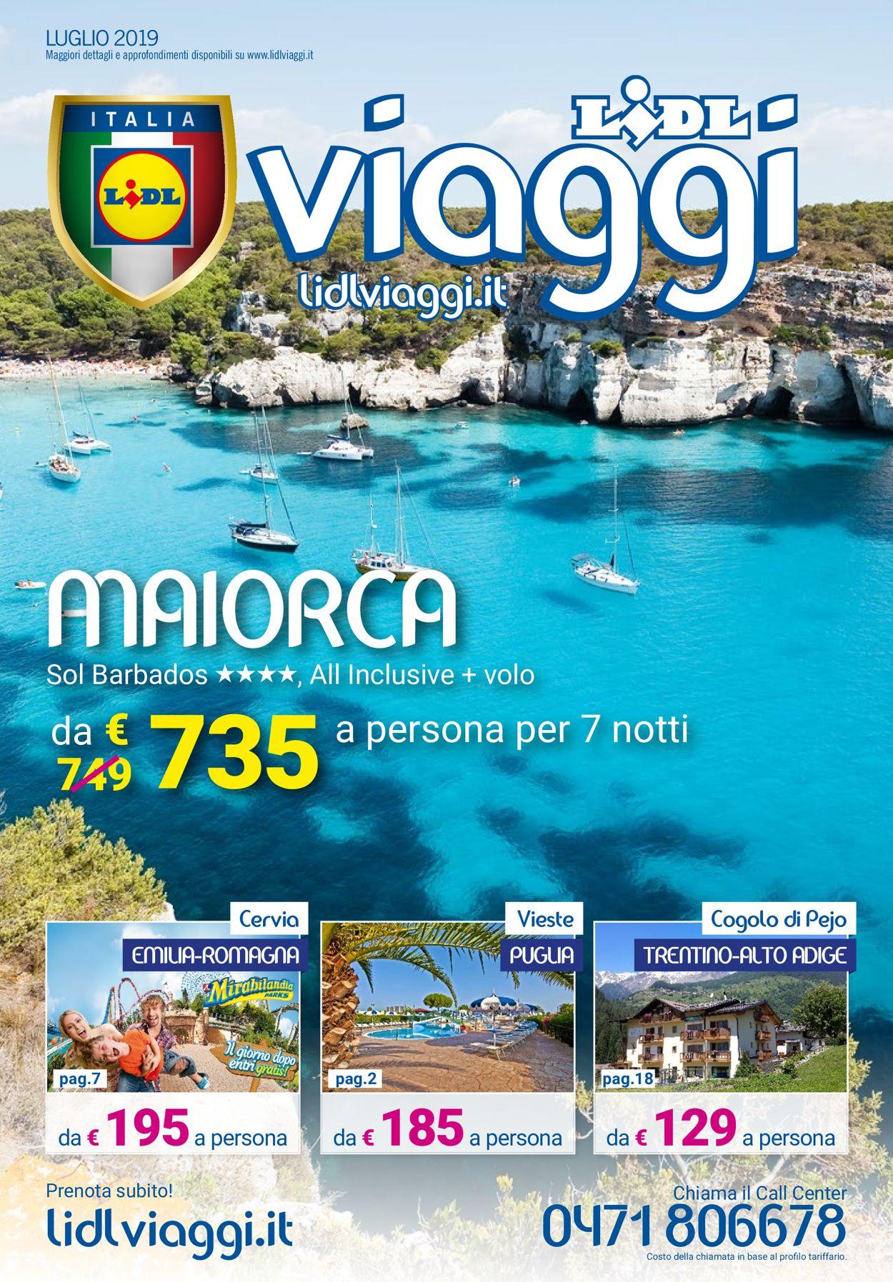 Volantino Lidl - Offerte 01/07-31/07/2019