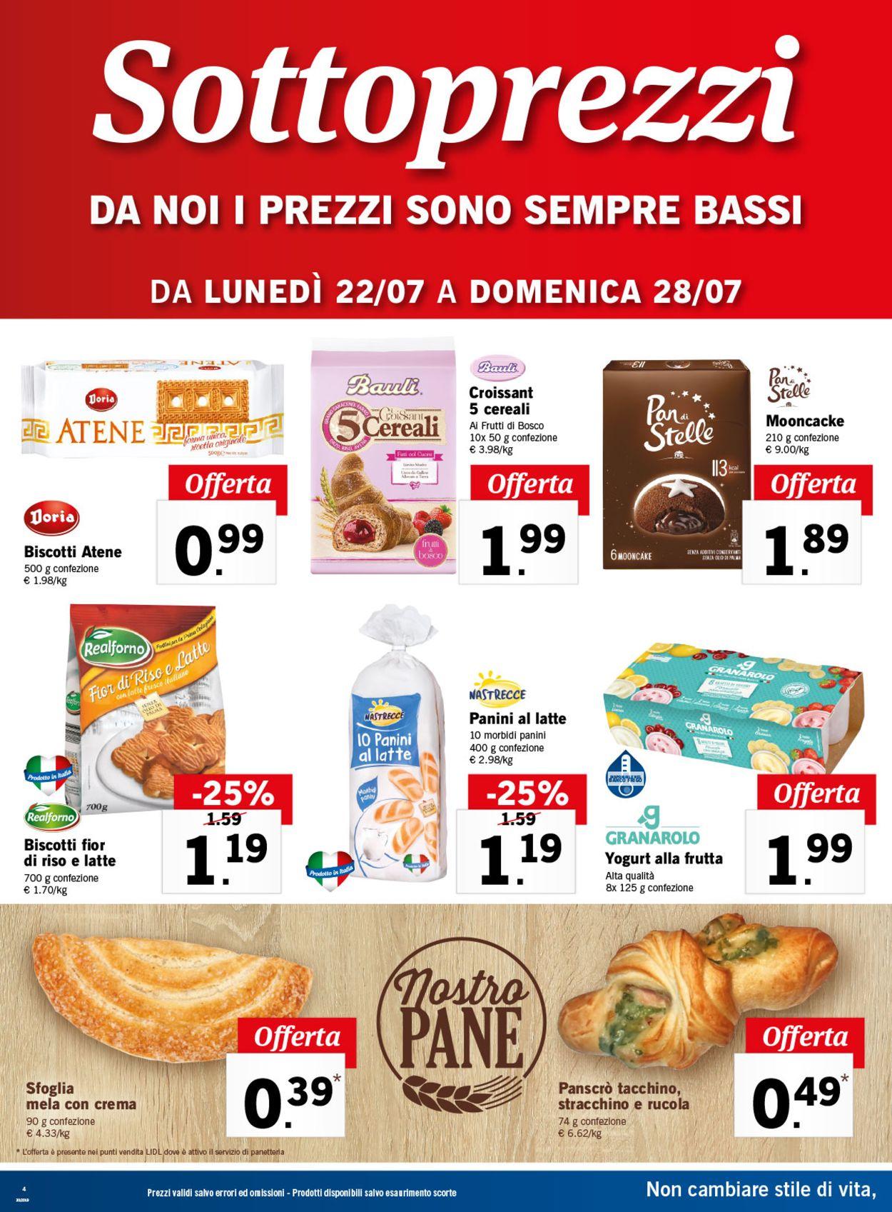 Volantino Lidl - Offerte 22/07-28/07/2019 (Pagina 4)